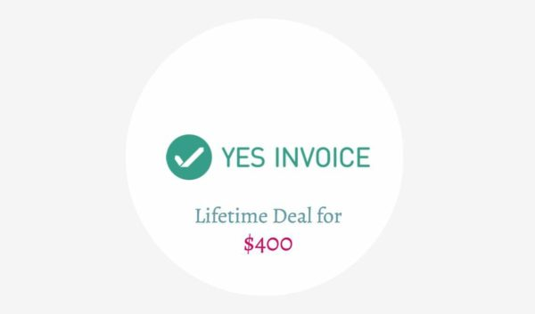Yes Invoice Lifetime Deal
