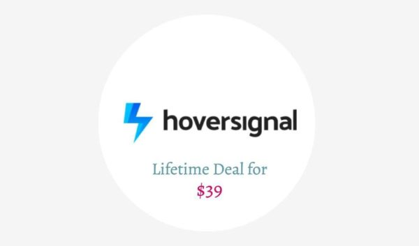 HoverSignal Lifetime Deal