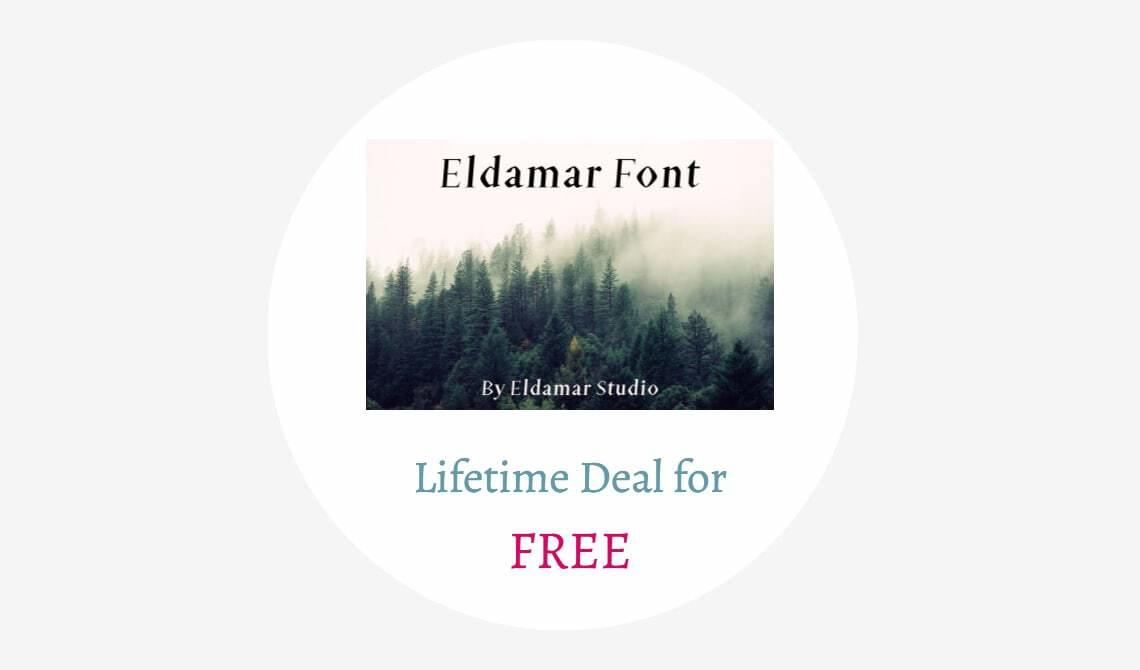 Eldamar Font Lifetime Deal