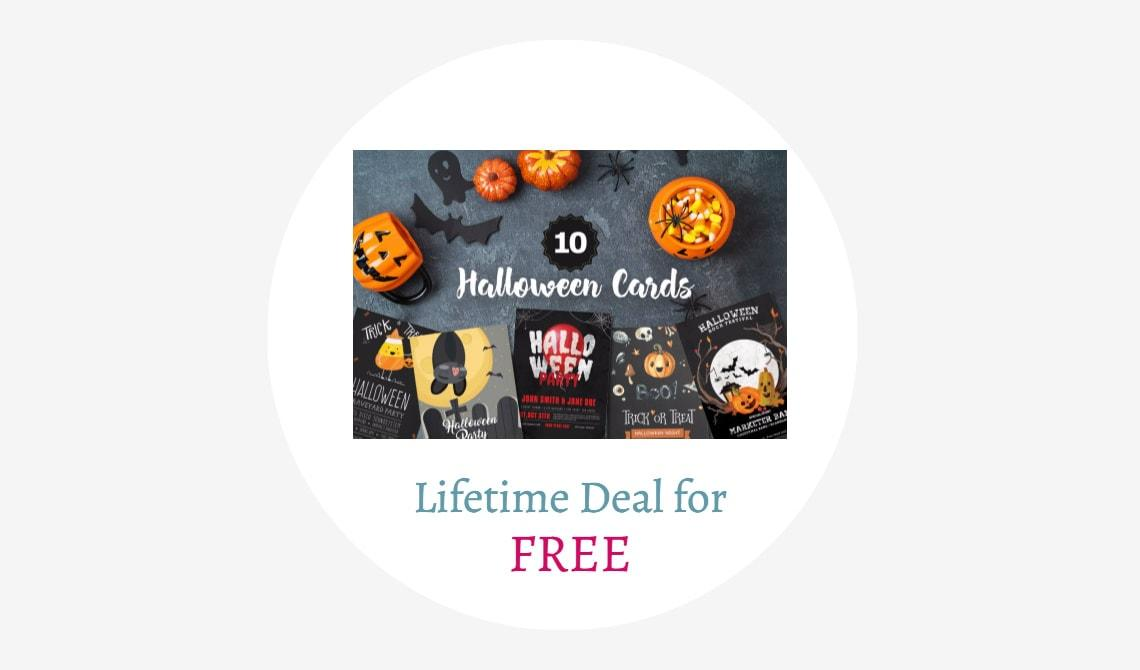 10 Free Halloween Cards Lifetime Deal