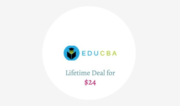 EduCBA lifetime Deal