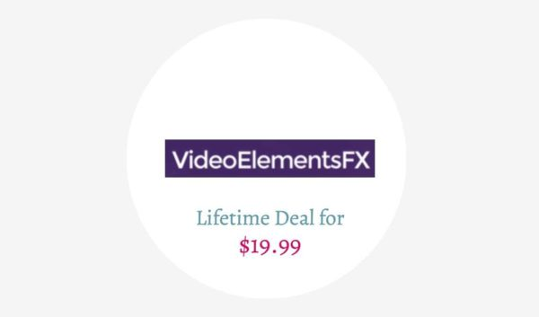 VideoElementsFX Lifetime Deal