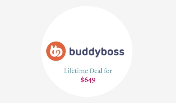 Buddyboss Lifetime Deal
