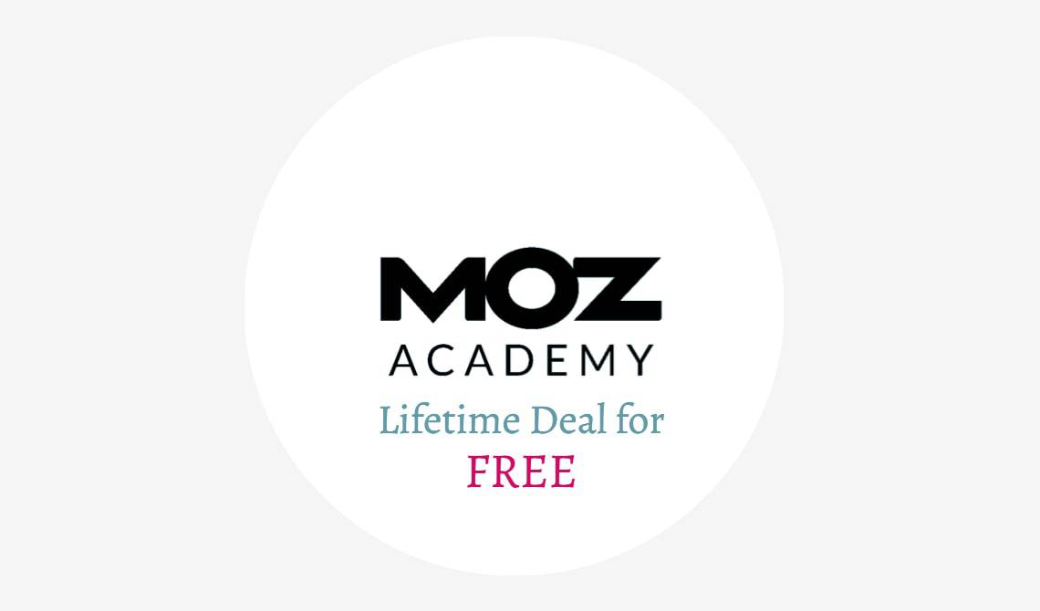 Moz Academy Free Training Deal