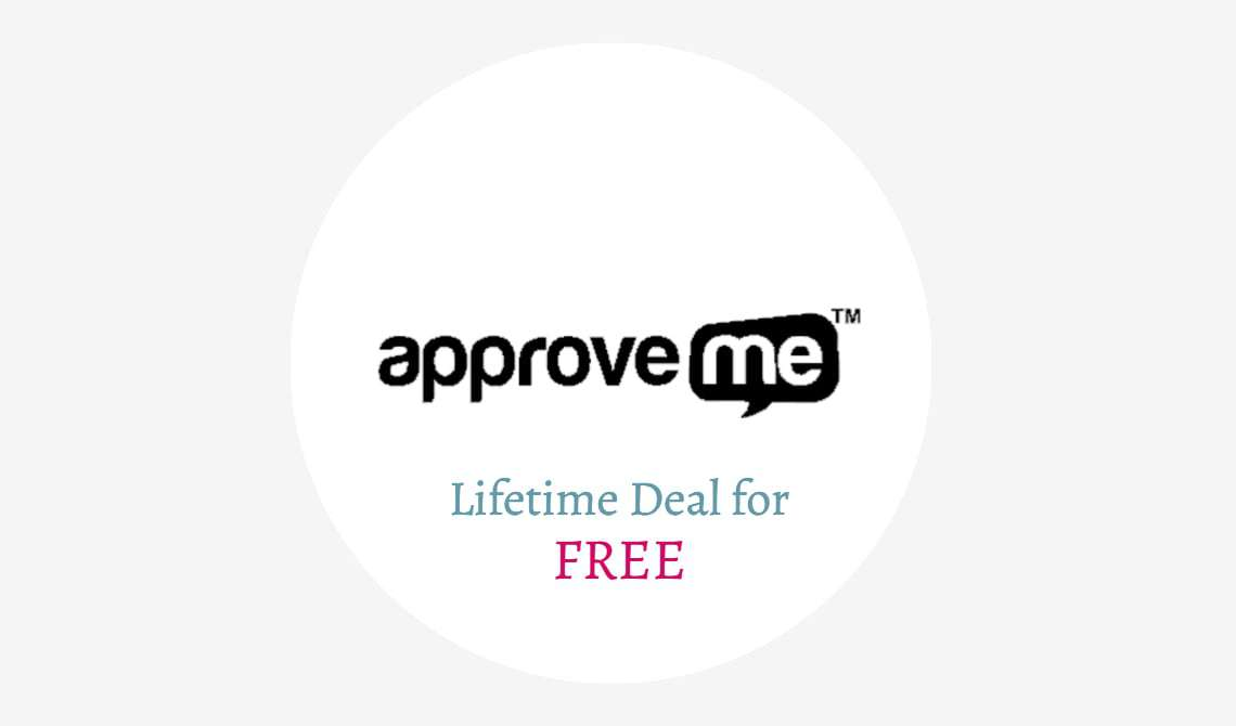 Approveme.com Lifetime Deal