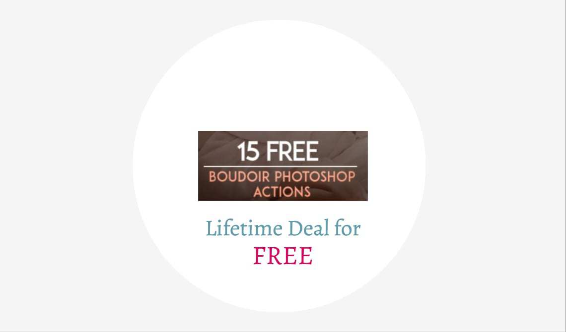 photoshop lifetime deal