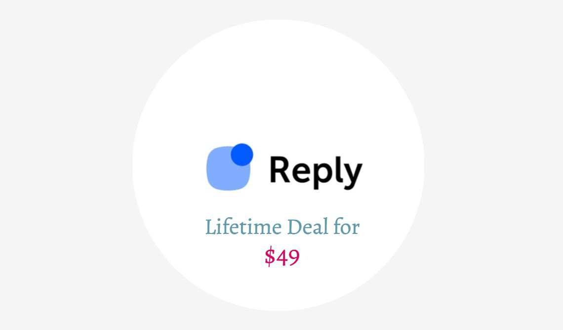 Reply Lifetime Deal