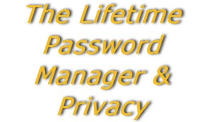 The Lifetime Password Manager & Privacy Subscription logo